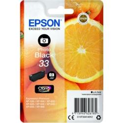 Epson T3341 Patron Photo Black 4,5 ml (Eredeti)