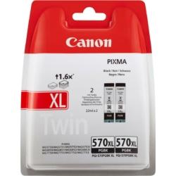 Canon PGI570XL Patron PGBlack Twin pack /eredeti/