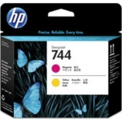 HP F9J87A Printhead M/Y No.744 (Eredeti)