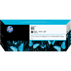 HP C9464A Patron Matt Black 775ml No.91 (Eredeti)