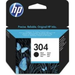 HP N9K06AE Patron Black No.304 (Eredeti)