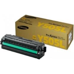 Samsung SLC2620/2670 Yellow Toner  CLT-Y505L/ELS (SU512A) (Eredeti)
