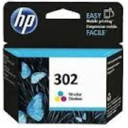 HP F6U65AE Patron Tri-Color No.302 (Eredeti)