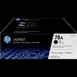 HP CE278AD Toner Black 2x2,1k No.78 (Eredeti)