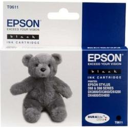 Epson T0611 Patron Black 8ml (Eredeti)