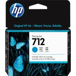 HP 3ED67A Patron Cy 29ml No.712 (Eredeti)