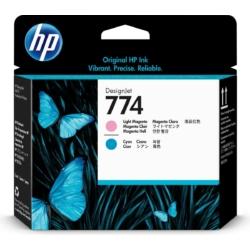 HP P2V98A Pr.head LMag/LCyan No.774 (Eredeti)