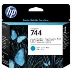 HP F9J86A Patron Photo Bk&Cy.Printhead No.744 (Eredeti)