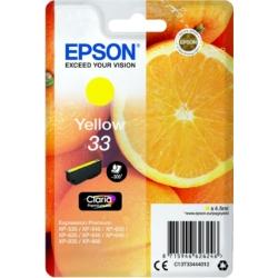 Epson T3344 Patron Yellow 4,5ml (Eredeti)