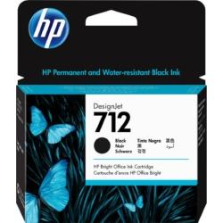 HP 3ED71A Patron Black 80ml No.712 (Eredeti)