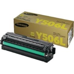 Samsung CLP 680B Yellow Toner 3,5k  CLT-Y506L/ELS (SU515A) (Eredeti)