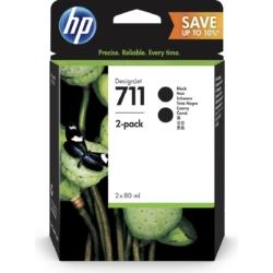 HP P2V31A Patron Black 80ml No.711 2pack