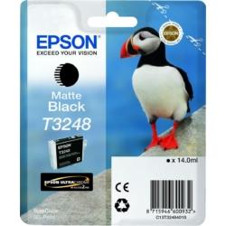 Epson T3248 Patron Matte Black 14 ml (Eredeti)