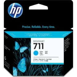 HP CZ134A Patron 3-Pack Cyan 29ml No.711 (Eredeti)