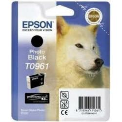 Epson T0961 Patron Photo Black 11,4ml (Eredeti)