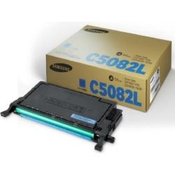 Samsung CLP 620/670B Cyan Toner 4k  CLT-C5082L/ELS (SU055A) (Eredeti)
