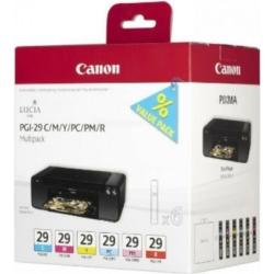 Canon PGI29 Multipack CMY/PC/PM/R