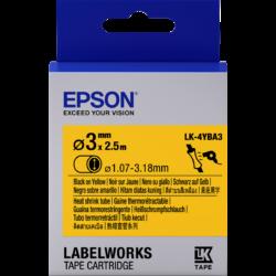 Epson LK-4YBA3 Black/Yellow 3mm szalag(2.5m)