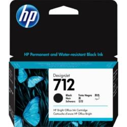 HP 3ED70A Patron Black 38ml No.712 (Eredeti)