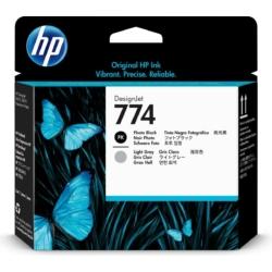 HP 774 Photo Black/Light Gray Printhead (Eredeti)