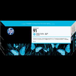 HP C9470A Patron L.Cyan 775ml No.91 (Eredeti)