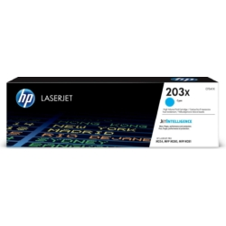 HP CF541X Toner Cyan 2,5k No.203X (Eredeti)