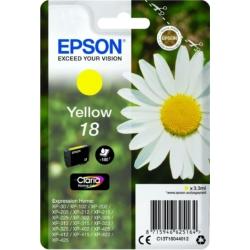 Epson T1804 Patron Yellow 3,3ml (Eredeti)