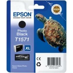 Epson T1571 Patron Black 26ml Stylus Photo R3000 (Eredeti)