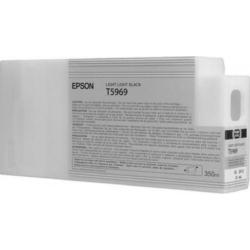 Epson T5969 Patron Light Black 350ml (Eredeti)