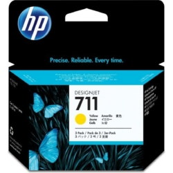 HP CZ136A Patron 3Pack Yellow 29ml No.711 (Eredeti)