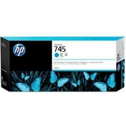HP F9K03A Patron Cy 300ml No.745 (Eredeti)