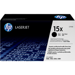 HP C7115X Toner Black 3,5k No.15X (Eredeti)