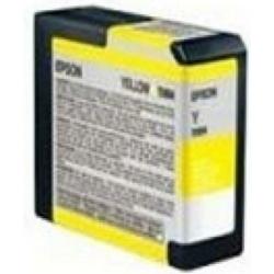 Epson T5804 Patron Photo Yellow 80ml (Eredeti)