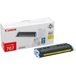 Canon CRG707 Toner Yellow 2,5k