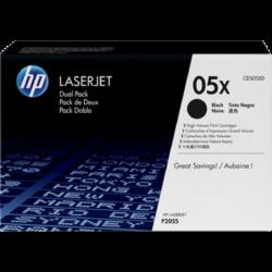 HP CE505XD Toner Black 2x6,5k No.05XD (Eredeti)
