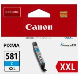 Canon CLI581XXL Patron Cyan /eredeti/