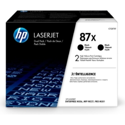 HP CF287XD Toner Bk 18k No.87X (Eredeti)