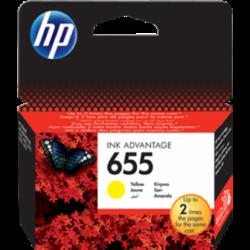 HP CZ112AE Patron Yellow No.655 (Eredeti)