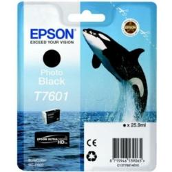 Epson T7601 Patron Photo Black 26ml (Eredeti)