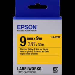 Epson LK-3YBP Black/Yellow 9mm szalag (9m)