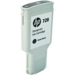 HP F9J68A Patron Matt Bk 300ml No.728 (Eredeti)