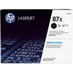 HP CF287X Toner Black 18k No.87X (Eredeti)