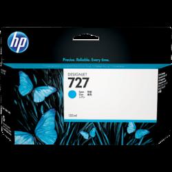 HP B3P19A Patron Cyan 130ml No.727 (Eredeti)