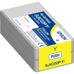Epson C3500 Patron Yellow 32,5ml (Eredeti)