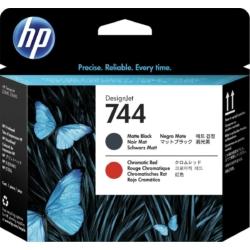 HP F9J88A 744 Pr.head M.Bk&Red (Eredeti)