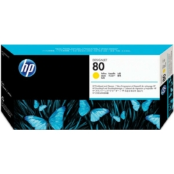 HP C4823A P.head&Cleaner Y No.80 (Eredeti)
