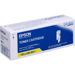 Epson C1700 Toner High Yellow 1,4K (Eredeti)