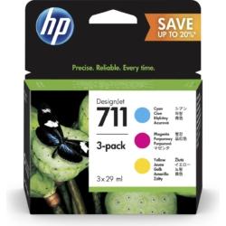 HP P2V32A Patron C/M/Y 28ml No.711 (Eredeti)
