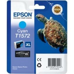 Epson T1572 Patron Cyan 26ml (Eredeti)