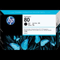 HP C4871A Patron Black 350ml No.80 (Eredeti)